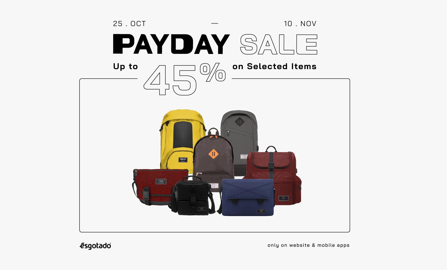 payday sale oktober november